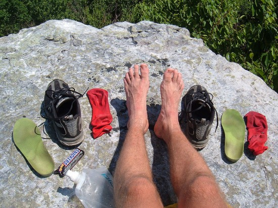 appalachian trail feet