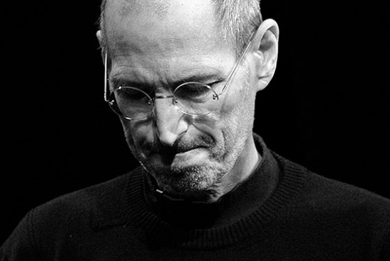steve jobs contemplating